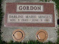 Darline Marie <i>Gordon</i> Minges