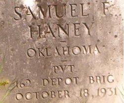 Samuel F. Haney