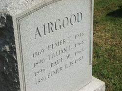 Elmer E. Airgood, Sr