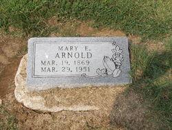 Mary Elizabeth Mollie <i>Shores</i> Arnold