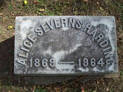 Alice <i>Severns</i> Harding