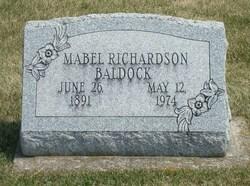 Mabel <i>Richardson</i> Baldock