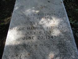 Maggie <i>Manning</i> Fitzpatrick