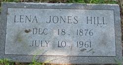 Lena <i>Jones</i> Hill