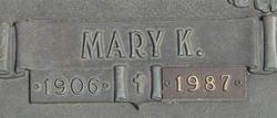 Mary K Bathgate