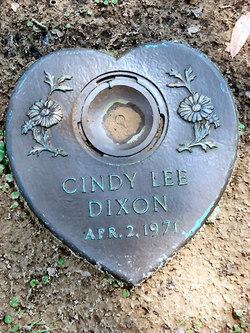 Cindy Lee Dixon