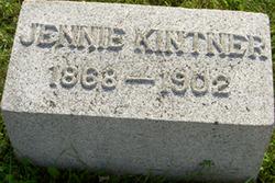 Jennie <i>Stahl</i> Kintner