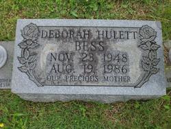 Deborah Jane <i>Hulett</i> Bess