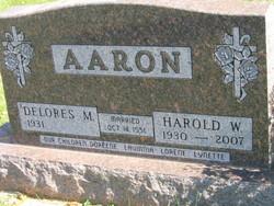 Harold Wayne Aaron