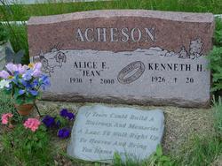 Alice Emajean Jean <i>Clack</i> Acheson