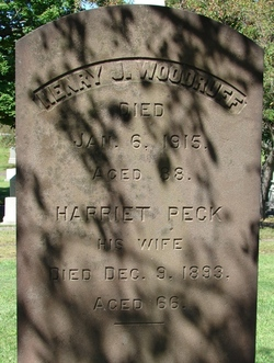 Harriet <i>Peck</i> Woodruff