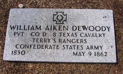 Pvt William Akin Dewoody