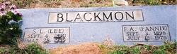 Fannie Anner <i>Bowdoin</i> Blackmon