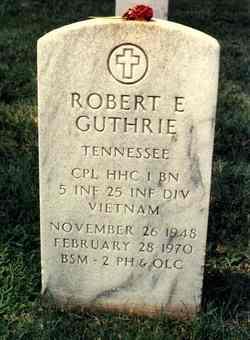 Robert E Guthrie