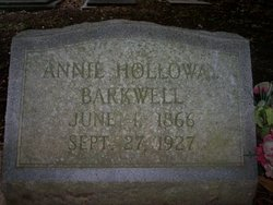 Annie Holloway Barkwell