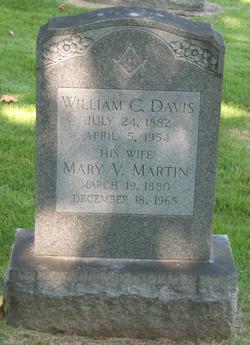 Mary Virginia <i>Martin</i> Davis