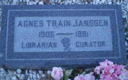 Agnes <i>Scott Train</i> Janssen