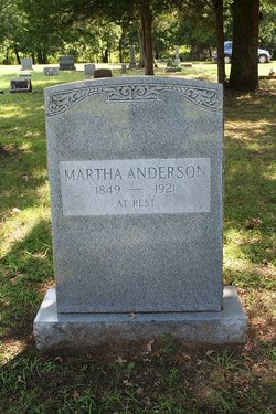 Martha Adaline <i>Hood</i> Anderson