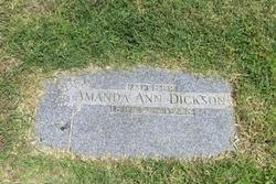 Amanda Ann <i>Berry</i> Dickson