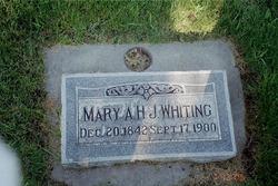 Mary Ann <i>Hall</i> Whiting