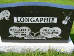 Margaret E <i>Dunphy</i> Lonaphie