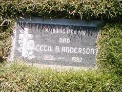 Cecil A Anderson