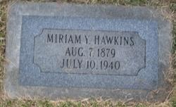 Miriam Young <i>Hardy</i> Hawkins