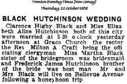 Elizabeth Alice <i>Hutchinson</i> Black