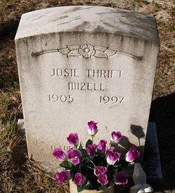 Josie <i>Thrift</i> Mizell