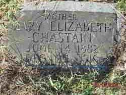 Mary Elizabeth Lizzie <i>Lawrence</i> Chastain