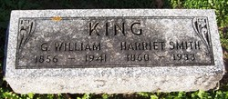 Harriet <i>Smith</i> King