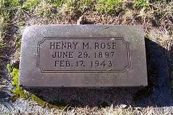 Henry M Rose