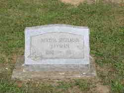 Bertha Belle <i>Speelman</i> Bayman