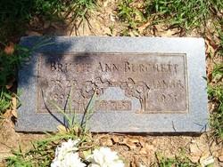 Brillie Ann <i>Brock</i> Burchett