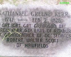 Nathaniel Greene Kerr