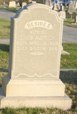 Desire Fowler <i>Ballou</i> Aldrich