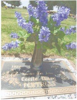 Cecile Mary <i>Lagasse</i> Fentress