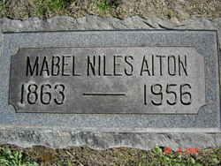 Mabel <i>Niles</i> Aiton