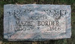 Mary Christina Mazie Border