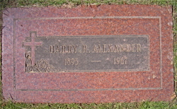 Harry R Alexander
