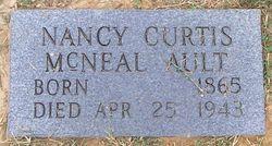 Nancy Curtis <i>Mcneal</i> Ault