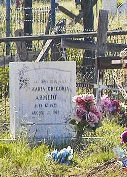 Maria Gregoria Armijo