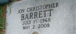 Jon Christopher Barrett