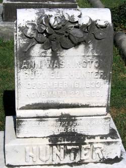 Ann <i>Washington</i> Burwell-Hunter