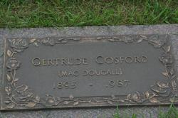 Gertrude <i>MacDougall</i> Cosford
