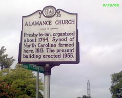 Alamance Presbyterian Church Cemetery