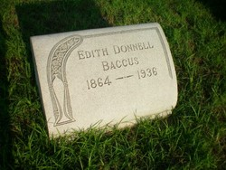 Edith <i>Donnell</i> Baccus