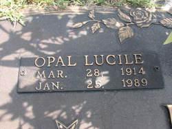 Opal Lucile <i>Wirey</i> Miller