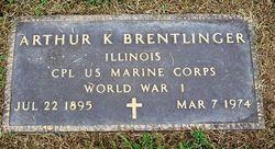Arthur Kenneth Brentlinger