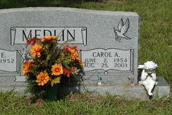 Carol Ann <i>Parker</i> Medlin